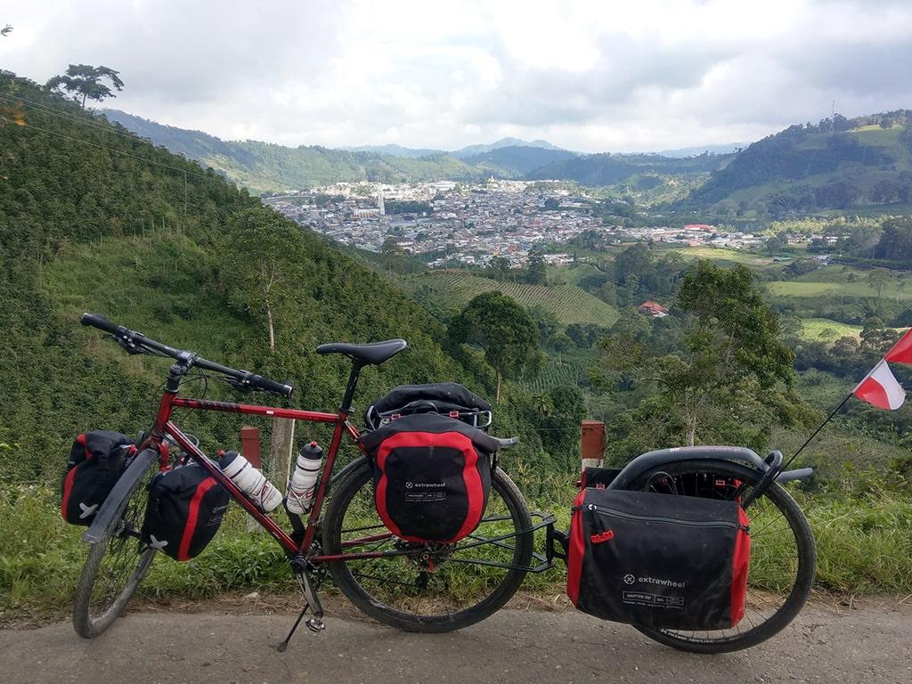 Extrawheel Fahrradanhänger Taschen und Reiseequipment 10