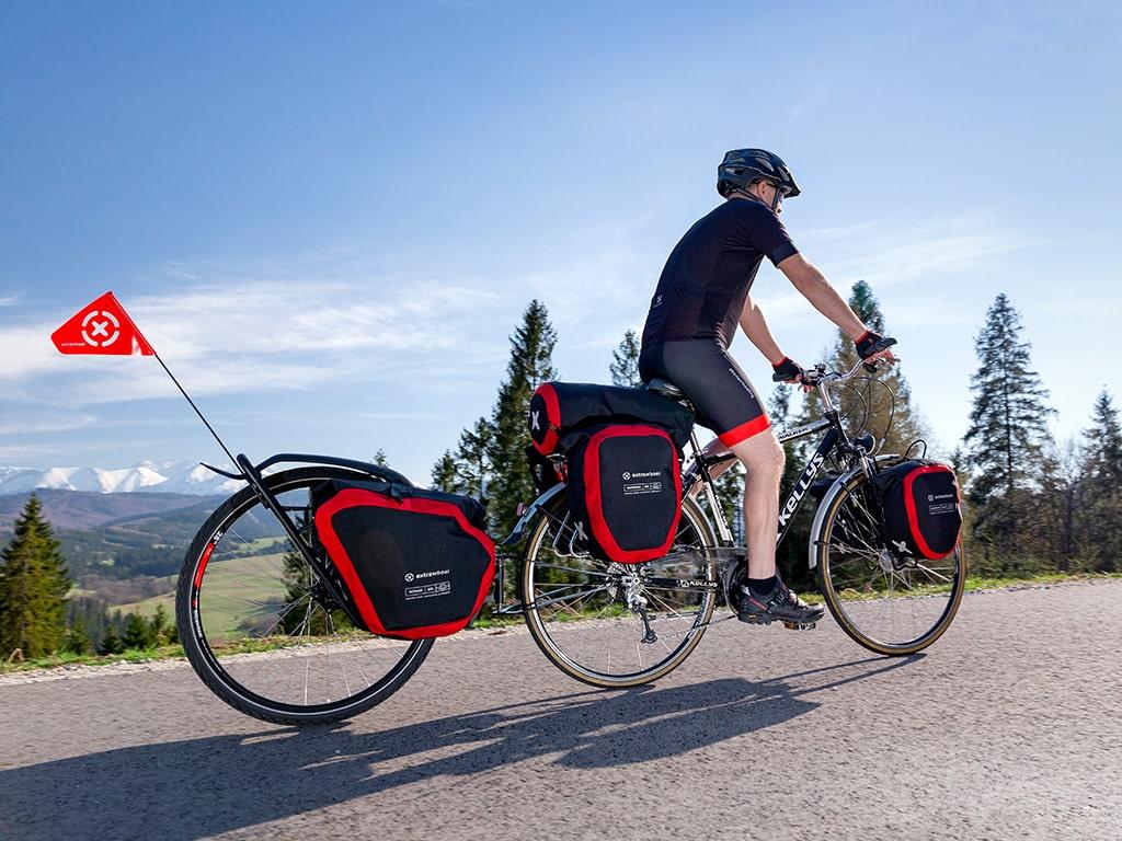 Extrawheel Fahrradanhänger Taschen und Reiseequipment 3