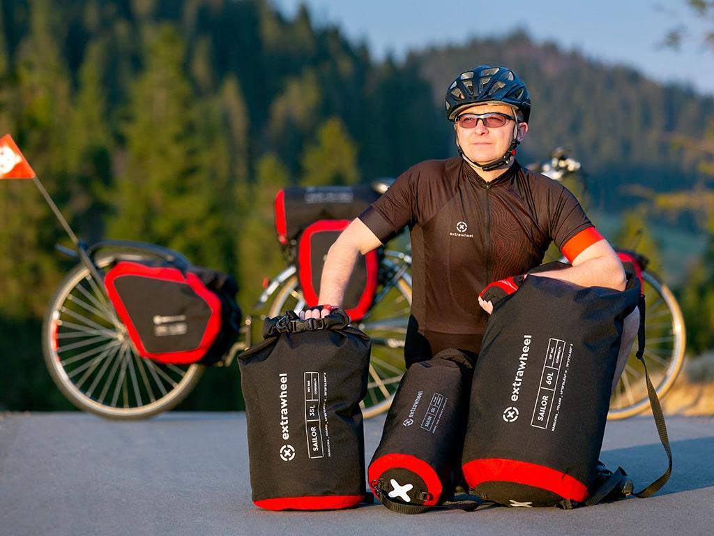Extrawheel Fahrradanhänger Taschen und Reiseequipment 5